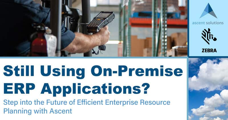Still Using On-Premise ERP Applications?