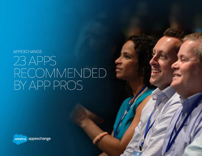 APPEXCHANGE: 23 Apps Recommended by App Pros