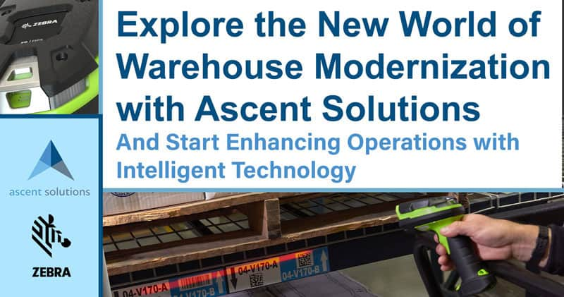 Explore the New World of Warehouse Modernization with Ascent Solutions
