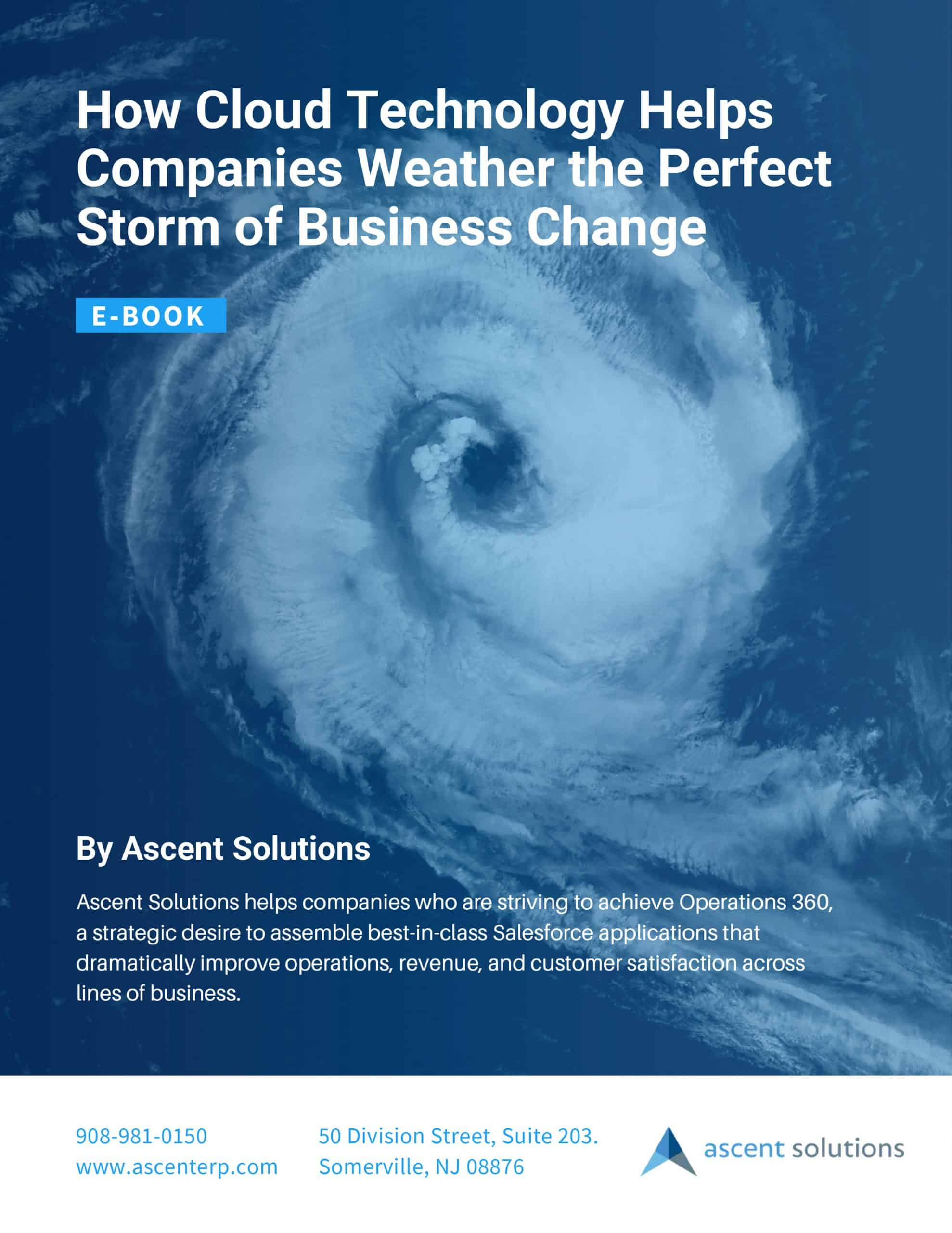 How Cloud Technology Helps Companies Weather the Perfect Storm of Business Change